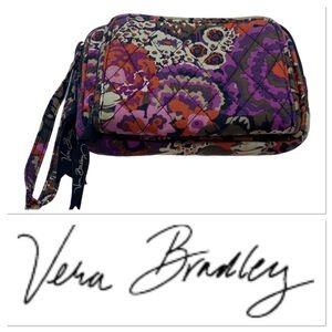 Vera Bradley purple pattern wallet